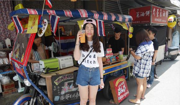 一秒到泰國!爆紅泰國奶茶:「龜龜毛毛泰國奶茶」可愛又好喝的曼谷味(台南國華街) 台南國華街美食▌