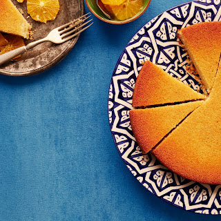 Semolina Cake with Oranges.