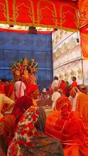 Photo: Eine indische Zermonie