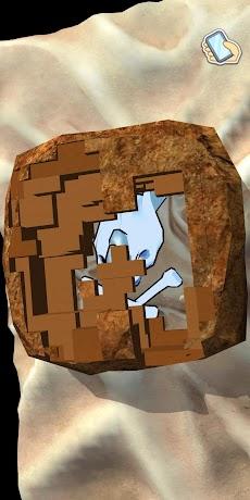 ASMR 化石発掘 3D - 暇つぶしシミュレーションゲームのおすすめ画像4