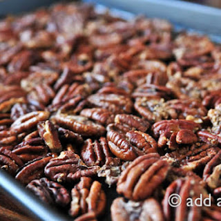 Simple Roasted Pecan Halves.