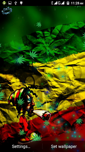 Weed Rasta Smoke Wallpapers Backgrounds By Dualapps Google Play