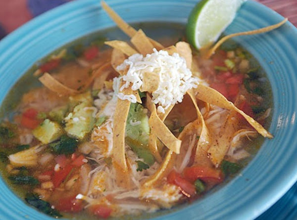 Mexican Chicken Soup Recipe