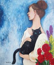 Photo: 猫を抱く女 Jun/2011