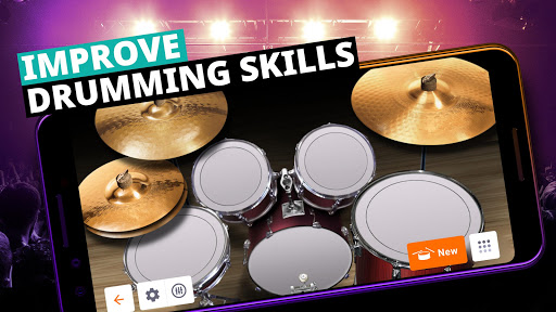 Drum Set Music Games & Drums Kit Simulator  screenshots 2