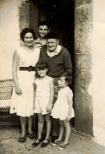 Photo: 1961, Tatin, Berto, Maximinucu, Reyes y Beatriz.