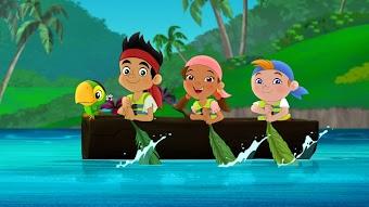 Captain Hook's Lagoon / Undersea Bucky!