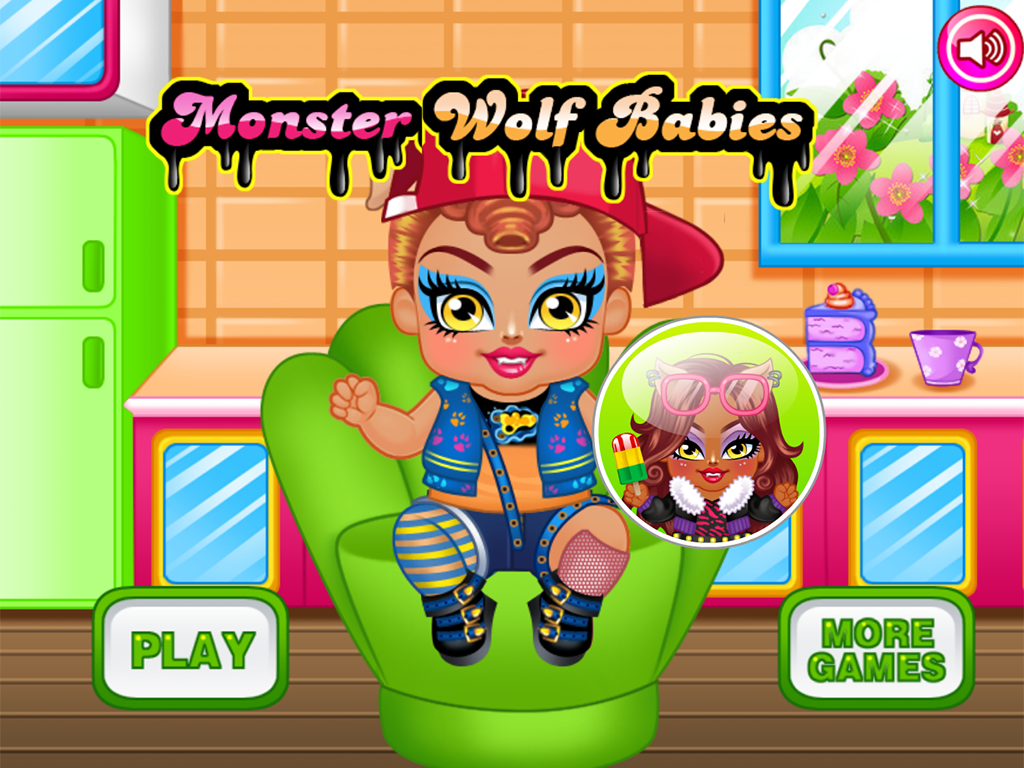 Monster Baby Care & Feed- screenshot