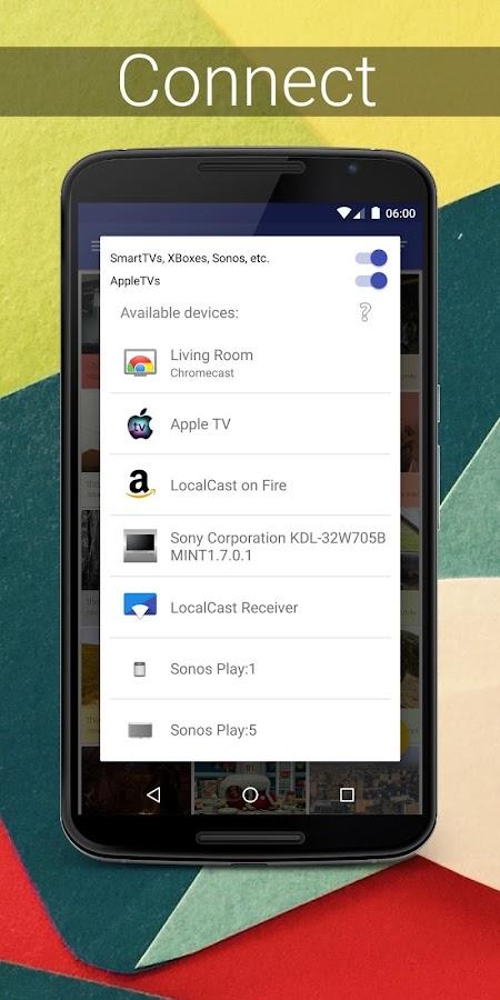 LocalCast for Chromecast/DLNA- screenshot