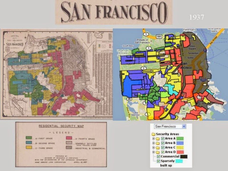 A History Of Redlining In San Francisco Neighborhoods Hoodline