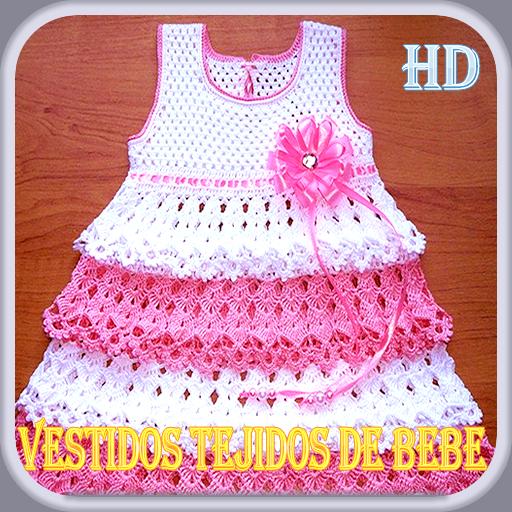 vestidos tejidos de bebe