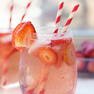Strawberry Rosé Sangria.