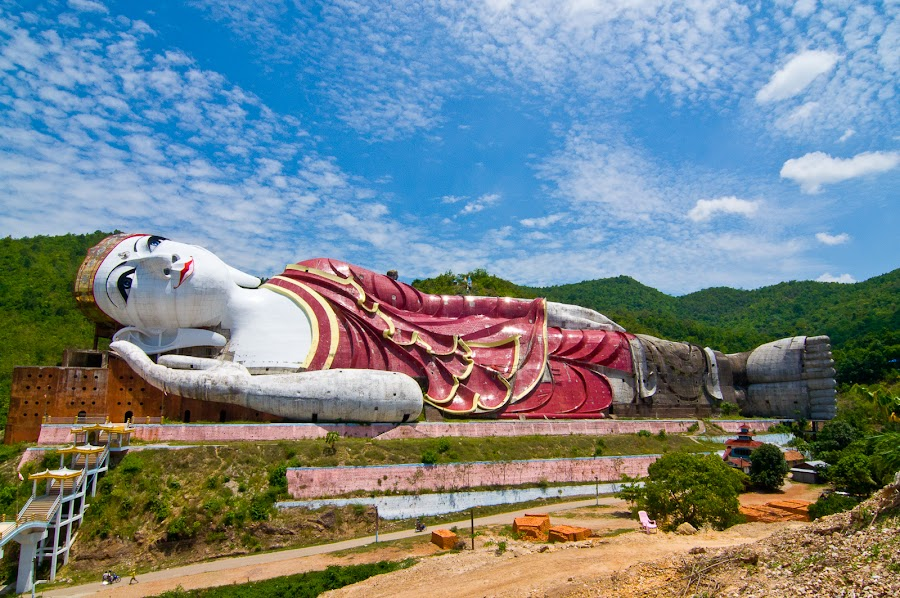 by Tin Htoo Khaing - Buildings & Architecture Statues & Monuments