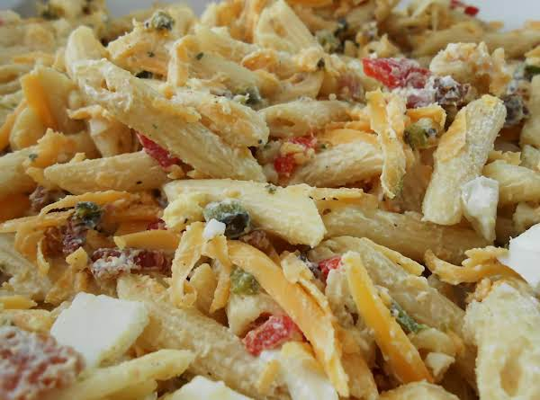 Pasta Salad With Roasted Peppers