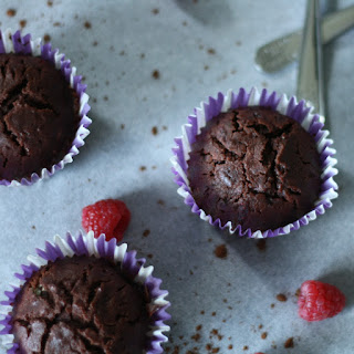 Beetroot Cocoa Muffins.