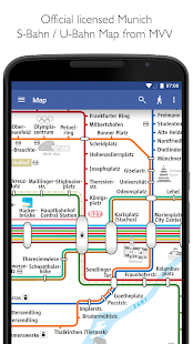 Munich Metro MVG map and route planner Apps on Google Play