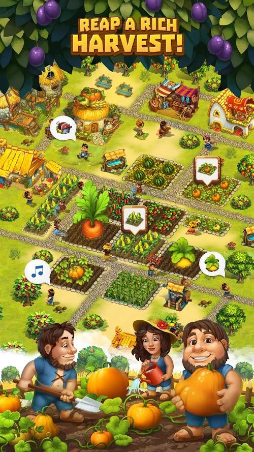 Screenshot 2 The Tribez: Build a Village 9.5.2 APK MOD