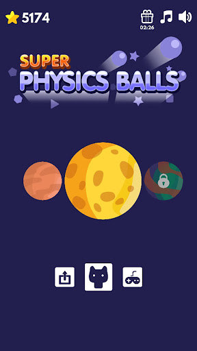 Super Physics balls  captures d'écran 1
