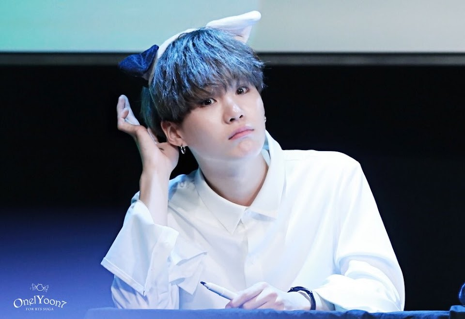BTS Suga Kitten