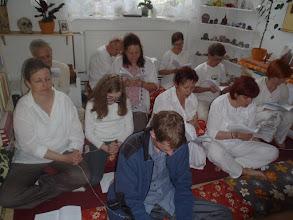 Photo: recitace a požehnání - chanting and blessing