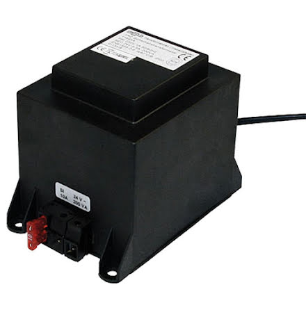 Transformator med stickpropp 230 V -> 24V 100VA