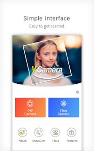 V Camera-Beauty Camera, Music Video, PIP Screenshot