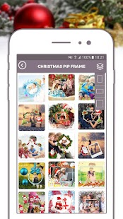 Xmas Greetings Frame Maker Photo Frames, Stickers - náhled