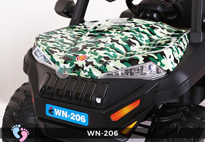 Xe hơi điện địa hình cho bé WN-206 7