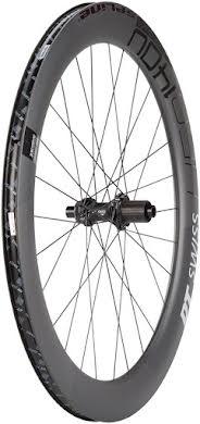 DT Swiss HEC 1400 Spline 62 Rear Wheel - 700, 12 x 142mm, Center-Lock/6-Bolt, HG 11/ XDR, Black alternate image 0