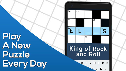 Daily Themed Crossword - A Fun crossword game  captures d'u00e9cran 1