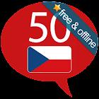 Tschechisch lernen 50 Sprachen icon