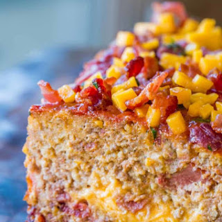 Bacon Cheeseburger Meatloaf.