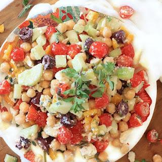 Ultimate Mediterranean Chopped Salad.