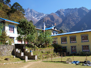 Photo: Lukla : Himalaya lodge