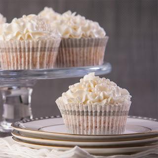 White Wedding Cupcakes, Gluten Free