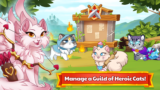 Castle Cats:  Idle Hero RPG u0635u0648u0631 1