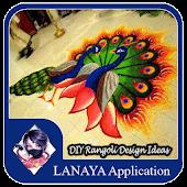 DIY Rangoli Design Ideas