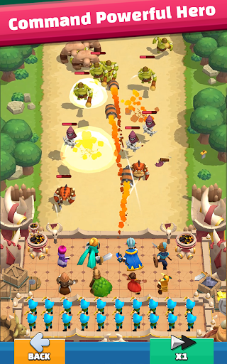 Wild Castle: 3D Offline Strategy Defender TD  screenshots 5