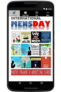 Happy International Men's Day - náhled