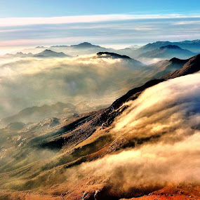 Mt. Hermon in the Morning by Donny Novianus - Landscapes Mountains & Hills