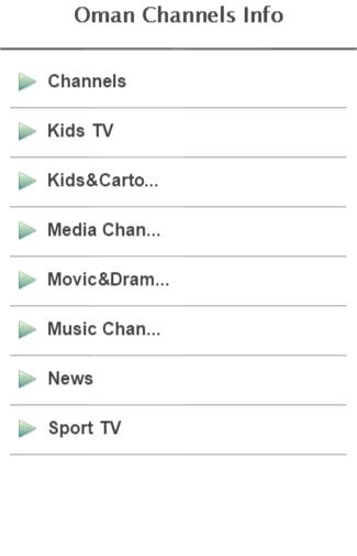 Oman Channels Info