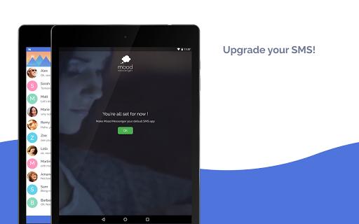 Mood Messenger - SMS & MMS screenshot 9