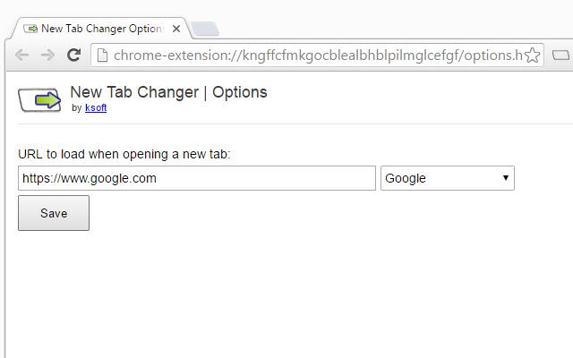 New Tab Changer