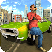 Gangster Crime City Car Driving Simulator