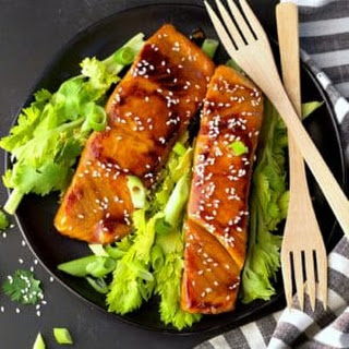 Instant Pot Soy-Free Asian Salmon.