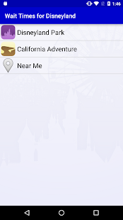 Wait Times for Disneyland- screenshot thumbnail