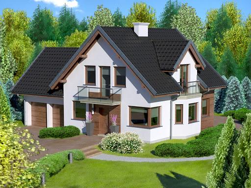 projekt Dom przy Przyjaznej 10