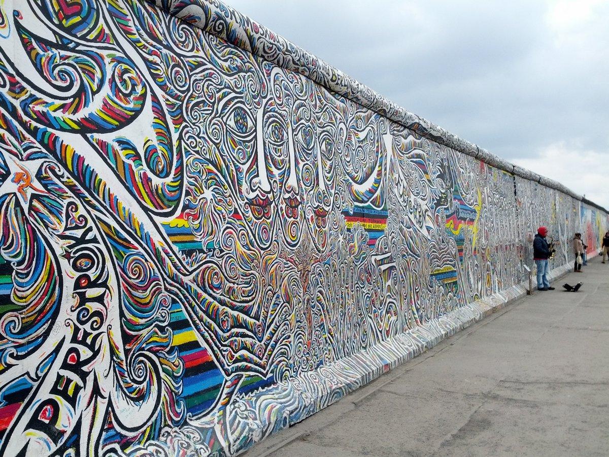 Берлинская стена сейчас