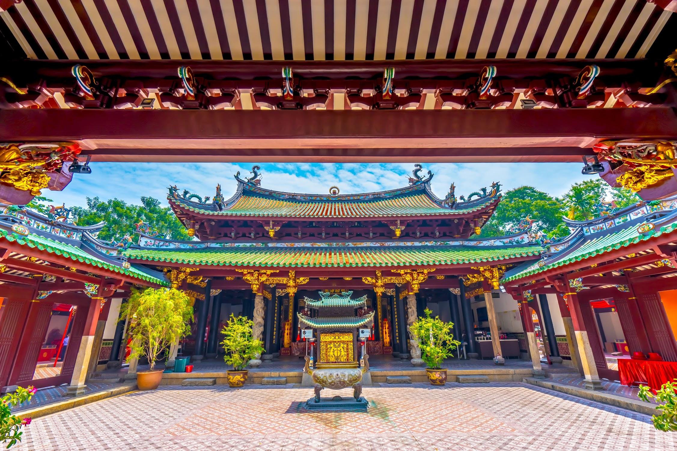 シンガポール シアン・ホッケン寺院3