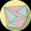 Area Triangle icon